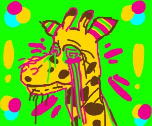 Giraffe on Acid