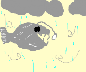 Anglerfish in a Hailstorm