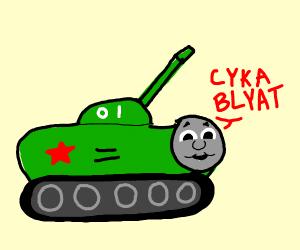 Thomas The Soviet Tank