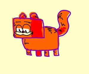 Minecraft Garfield