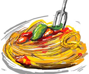 intense spaghetti