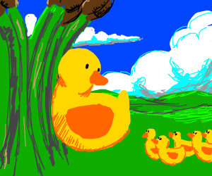 Mother drawception duck will get all the duck