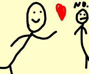 Stickman in love