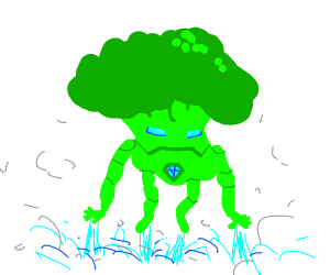 Iron man as a broccoli