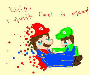 mario doesnt feel so good