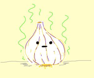 Living garlic