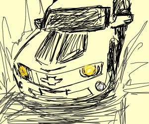 Transformer Looking Car