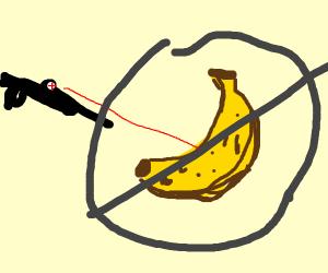 don't snipe bananas