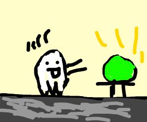 Ghost wants flow stone