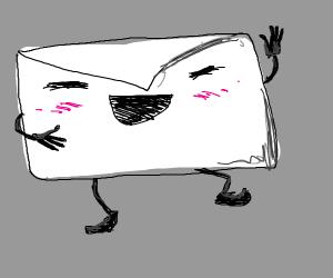 happy envelope