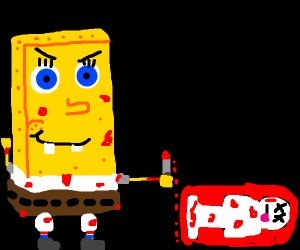 SpongeBob killed someone