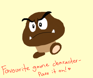 Favourite game character PIO