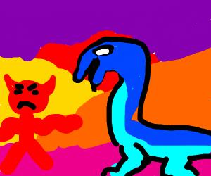 Demon vs Aqua Dragon