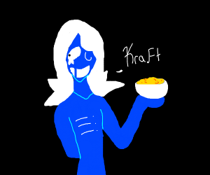 Rouxls Kaard with Kraft Dinner
