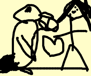 Forbidden love between girl & penguin