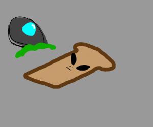 Alien toast
