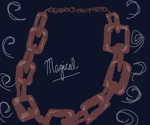 Magical chain necklace