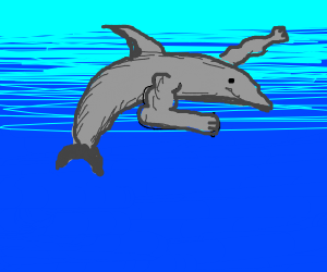 Dolphin but with S W O L E arms