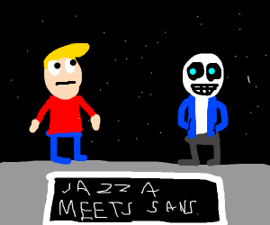 Jazza meets sans