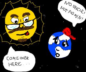sun as earth's rapey uncle