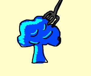 blue broccoli