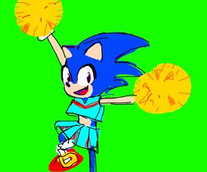 cheerleader sonic