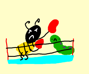 WWE but with insects