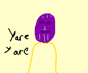 Thanos as a stand user