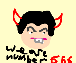 we are number satan