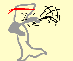 Kung Fu Whale