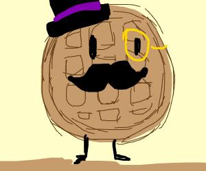Fancy waffle walking