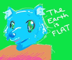Flat-earther Furry