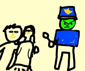 Jealous Police Officer