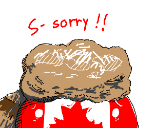 canada is sorry
