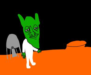 fist goblin on mars
