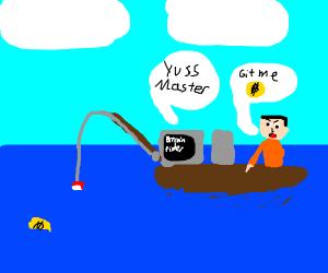Fishing for bitcoins (Yass)
