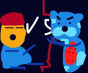 Kung Pow vs. Mootaro