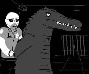 Crocodile in a Miami Jail