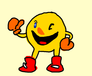 thumbs up pacman