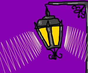 Lantern illuminating the night