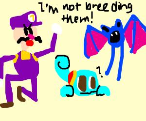 Waluigi isn't breeding pokemon