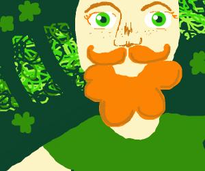 very irish man