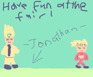 DIO & Jonathan take Giorno to the Fair