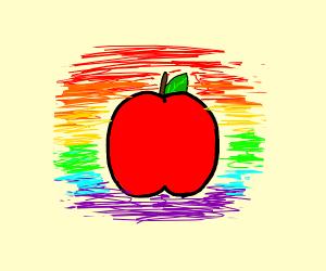 apple but looking kinda gay ngl