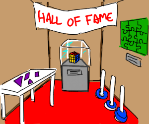 Hall of fame for puzzles