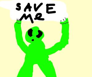 alien from area 51