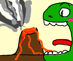 Eating a Volcano