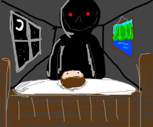 Sleep paralysis nightmares