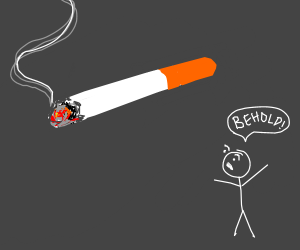 This is a cigarette