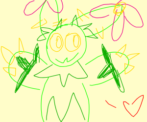 Maractus (pokemon) loves